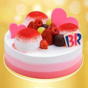 berry me baskin robbins cakes