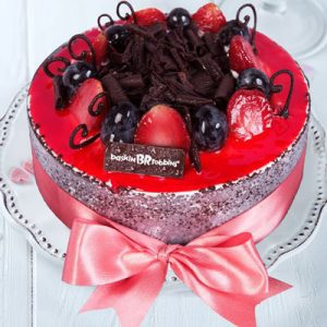 cherry berry baskin robbins cakes