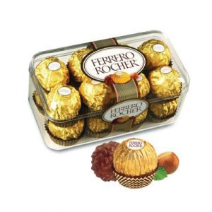 chocolate ferrero rocher box 16