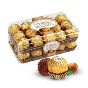chocolate ferrero rocher box 30