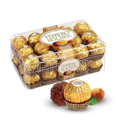 chocolate ferrero rocher box 30