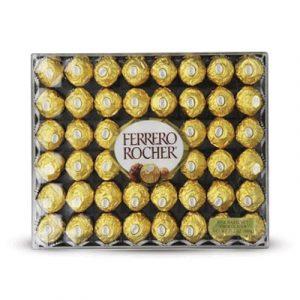 chocolate ferrero rocher box 48