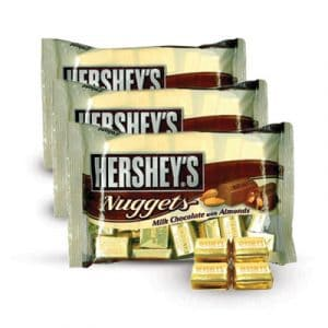 chocolate hershey nuggets 03 bags