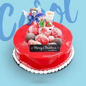 christmas carol baskin robbins cake