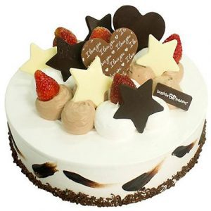 coffee lovers baskin robbins cakes