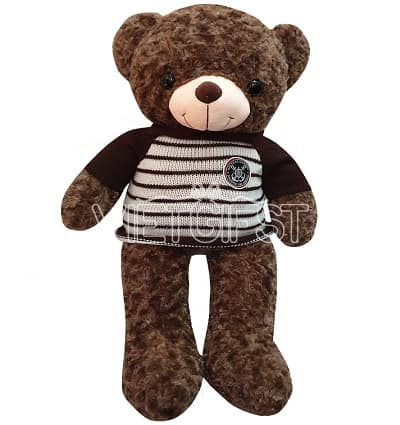 deep brown teddy bear