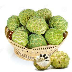 fresh custard apple basket