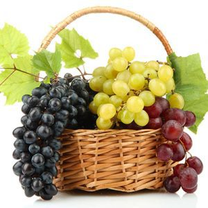 fresh grape basket