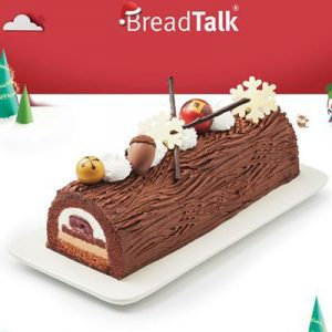 joy of christmas log breadtalk xmas cake