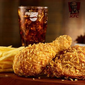 kfc combo fried chicken a