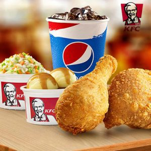 kfc combo fried chicken b