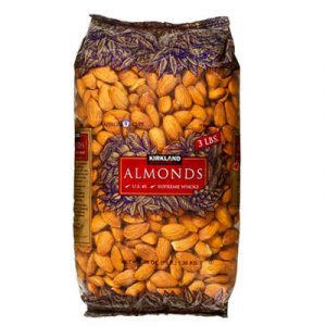 kirkland signature almond tet food
