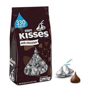 kisses milk chocolate bag 56oz