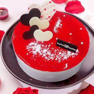 love story baskin robbins cakes
