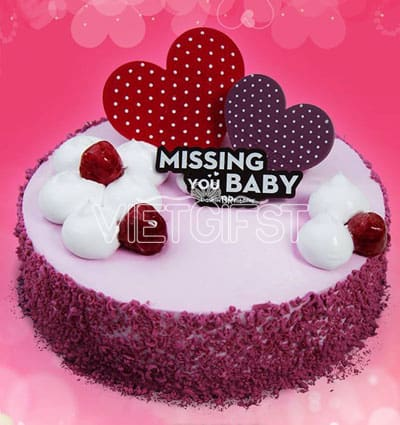 missing you baby baskin robbins cakes