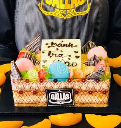 peach dallas cake