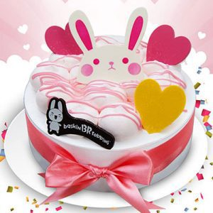 pink fairy baskin robbins cakes