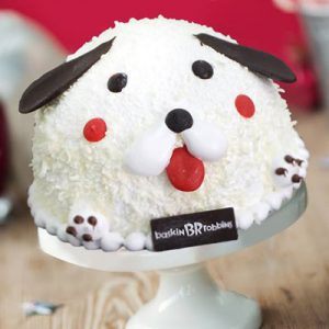 puppy dog baskin robbins cakes
