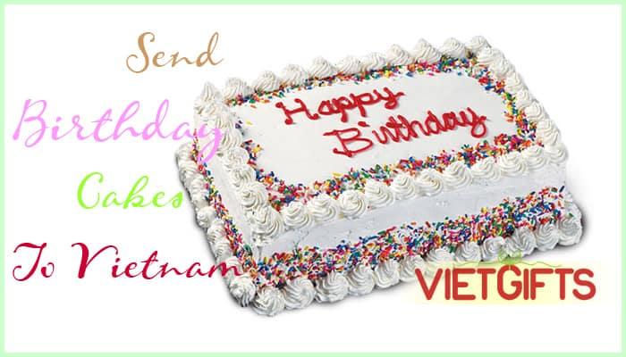 Phenomenal Send Birthday Cakes To Vietnam Birthday Cake Vietnam Personalised Birthday Cards Paralily Jamesorg