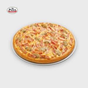 the pizza company ham mushroom