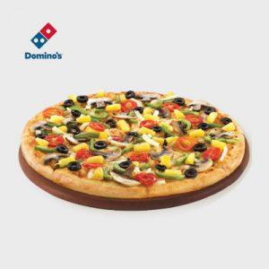 veggie mania dominos pizza