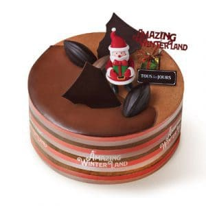 xmas double dip cacao 1 cake