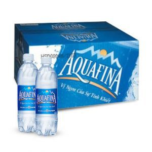aquafina pure water 24 cans