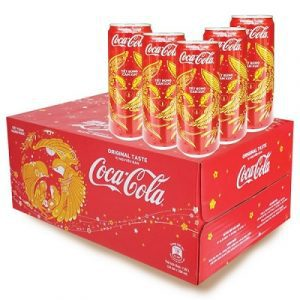 coca cola soft drink 24 bottles carton