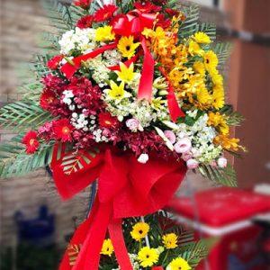 congratulations standing flower 01