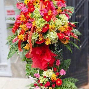 congratulations standing flower 02
