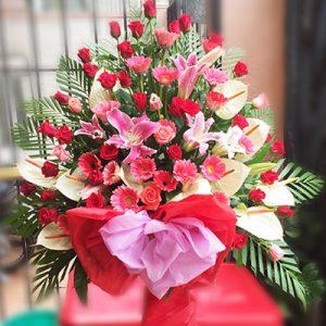 congratulations standing flower 03