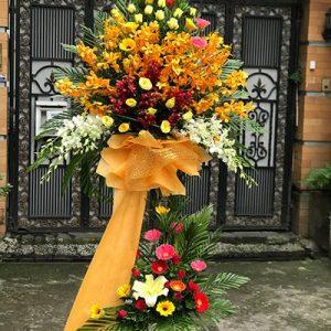 congratulations standing flower 04a