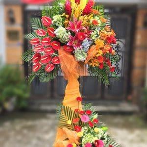 congratulations standing flower 05