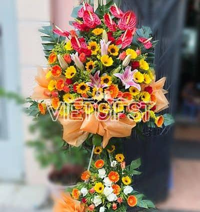 congratulations standing flower 06