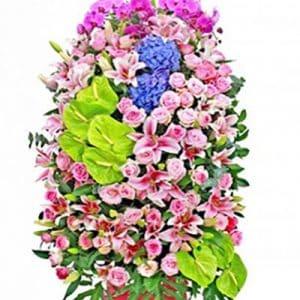 congratulations standing flower 07a