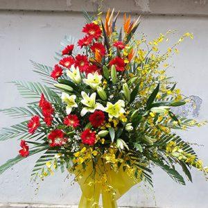 congratulations standing flower 08