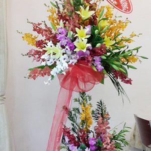 congratulations standing flower 09