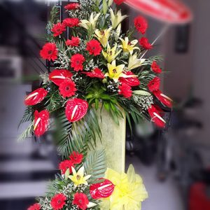 congratulations standing flower 10