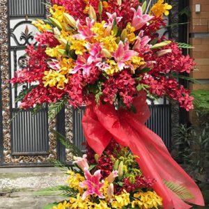 congratulations standing flower 11