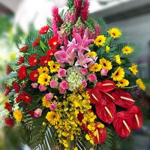 congratulations standing flower 12