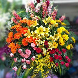 congratulations standing flower 13