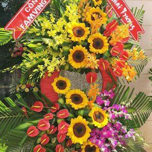 congratulations standing flower 15