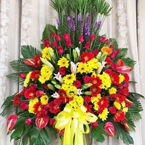 congratulations standing flower 17