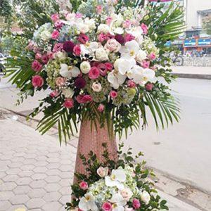 congratulations standing flower 21