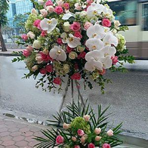congratulations standing flower 22