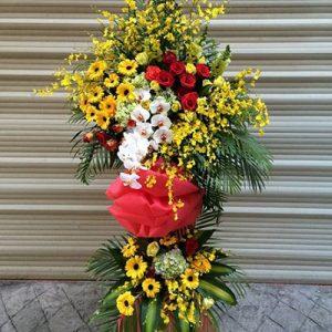 congratulations standing flower 23