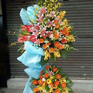 congratulations standing flower 24