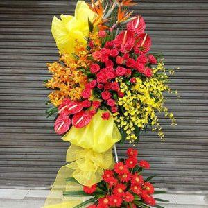 congratulations standing flower 25