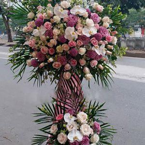 congratulations standing flower 26