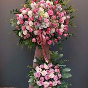 congratulations standing flower 27